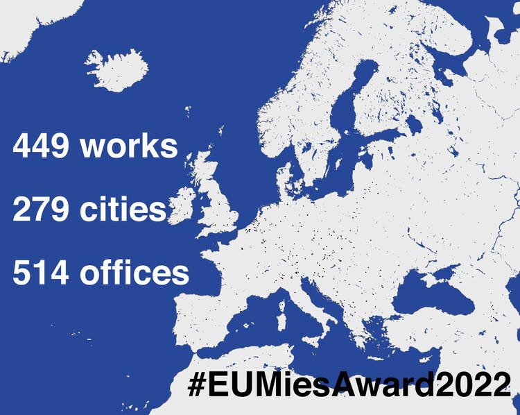 449 Obras nominadas al Premio EU Mies van der Rohe 2022, Cortesía del premio Mies van der rohe