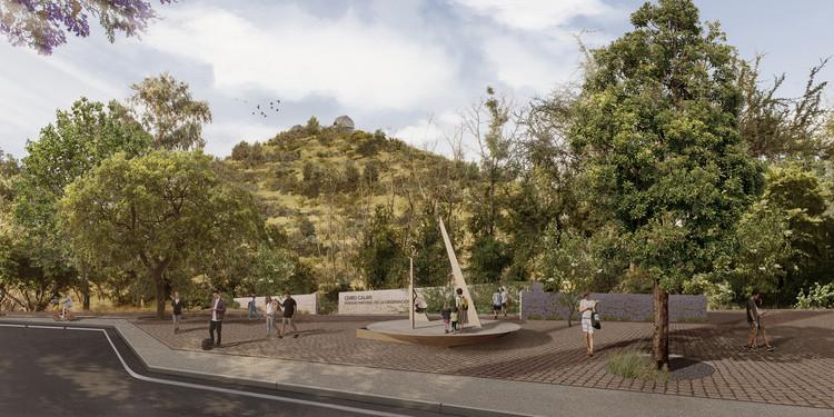 Jadue-Livingstone diseñará el Parque Observatorio Cerro Calán en Santiago, Acceso al parque . Image Cortesía de Parque Observatorio Cerro Calán