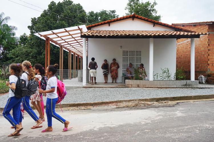"""Noelia Monteiro: """"El éxito es la apropiación y el uso del espacio construido"""", Renovación y Ampliación de la Casa Harinera de Babaçu. Serra - MA, febrero de 2020. Foto Noelia Monteiro"""