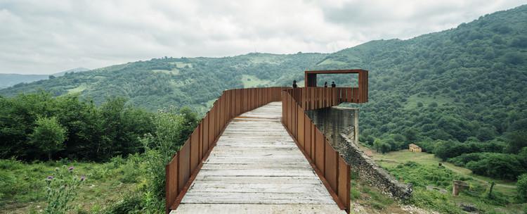 Passarela-Mirante sobre as Minas de Rioseco / Zon-e Arquitectos, © Imagen Subliminal (Miguel de Guzmán + Rocío Romero)
