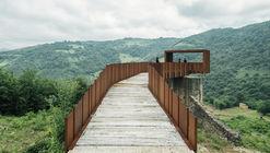 Pasarela-Mirador sobre las Minas de Rioseco / Zon-e Arquitectos