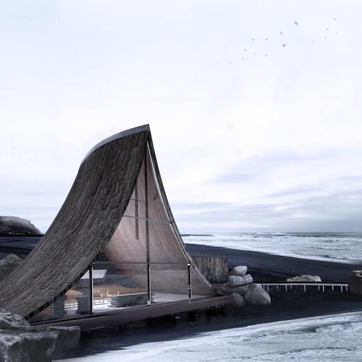 Coast Whale Chapel / Jinyu Zhang. Image Courtesy of A' Design Awards