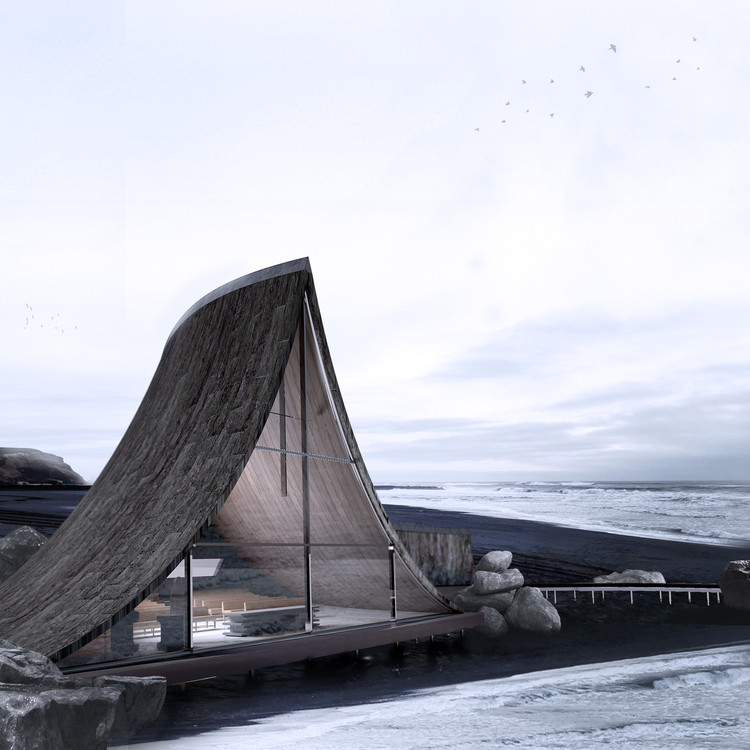 Last Chance: Enter Your Work in the A' Design Awards, Coast Whale Chapel / Jinyu Zhang. Image Courtesy of A' Design Awards