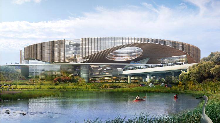 OMA vence concurso para a nova Cidade da Ciência de Chengdu, China, Cortesia de OMA