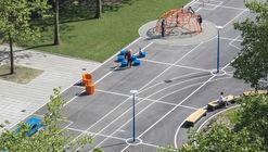Gridgrounds Square / Openfabric + Dmau