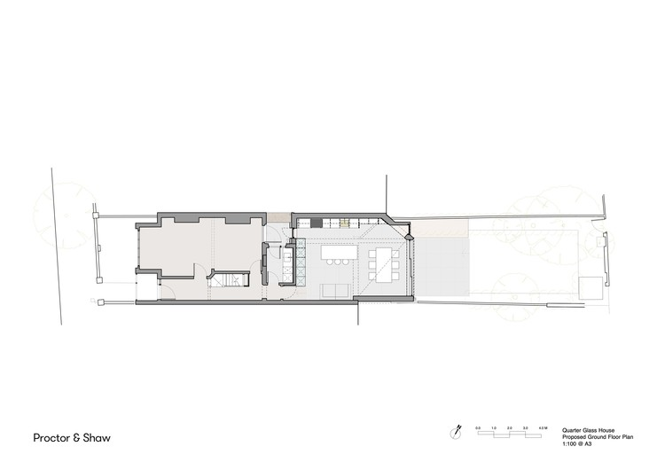 Plan - Proposed ground floor