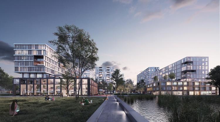 Park More Leiden / VenhoevenCS & Paul de Ruiter. Image Courtesy of A2 Studio