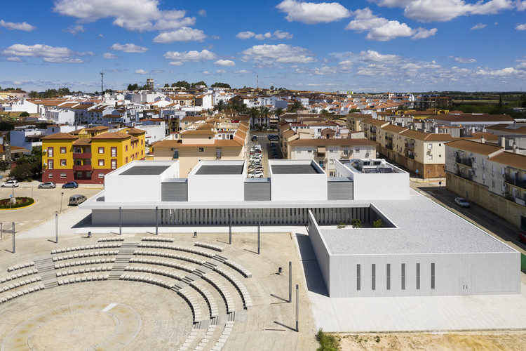 Health Center at Gibraleón / Javier Terrados Estudio de Arquitectura, © Fernando Alda