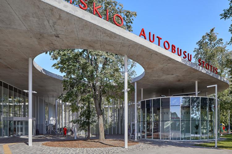 Vilkaviškis Bus Station / Balčytis Studija, © Norbert Tukaj