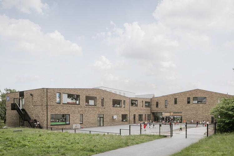 Escuela GO! Ninove / Abscis Architecten, © Jeroen Verrecht