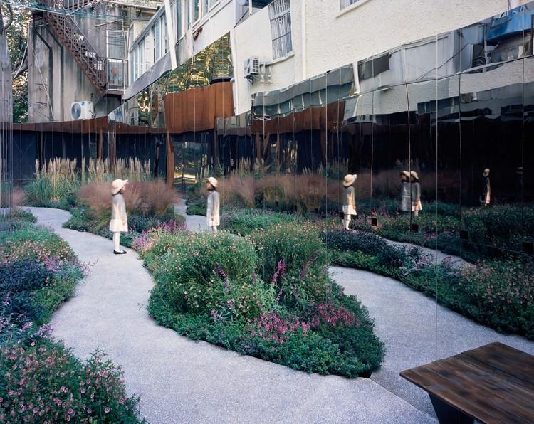 Pocket Parks: respiros urbanos em pequena escala, Pocket park on Xinhua Road. Image © Hao Chen