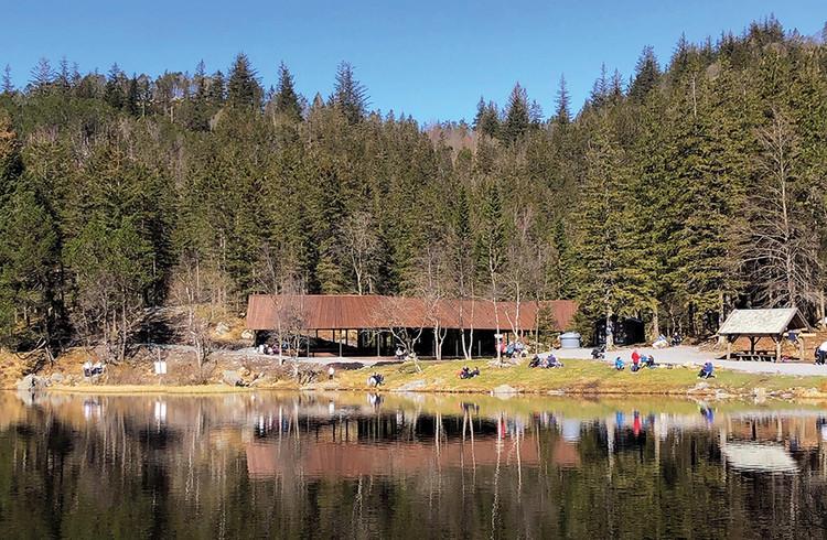 Visitor Center in Skomakerdiket Lake / Fløyen / SAAHA + Utmark, © Vibeke Eikehaug