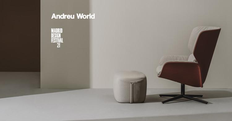 Encuentro online: Nuez Lounge BIO®, posiblemente la butaca más sostenible del mundo en MDF 2021, NuezLoungeBIO, 100% biodegradable y compostable, diseñada por Patricia Urquiola para Andreu World