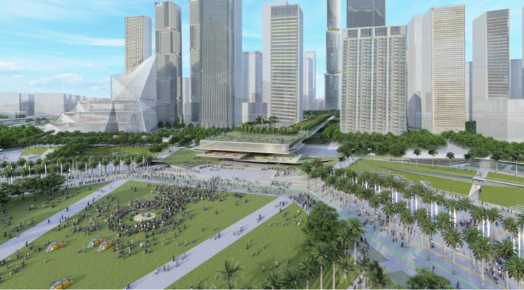 Conceptual Schematics of Qianhai Stone Park