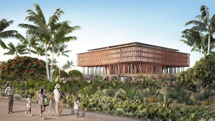 Kéré Architecture Proposes New Design for Benin's National Assembly in Porto-Novo, Courtesy of Kéré Architecture