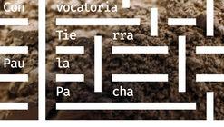 """Convocatoria de fotografías para """"Paula y Patrimonio se escriben con P de Pacha"""""""