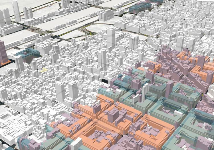 ¿Cuál es la altura máxima que puedo construir? Ciudad 3D, una plataforma digital para visualizar el Código Urbanístico de Buenos Aires, © Gobierno de Ciudad Autónoma de Buenos Aires Bajo Licencia CC BY 2.5 AR