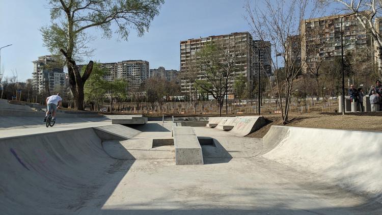 Skatepark & Parkourground Mziuri / David Giorgadze Architects + Maxime Machaidze (LTFR), Courtesy of David Giorgadze