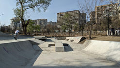 Skatepark & Parkourground Mziuri / David Giorgadze Architects + Maxime Machaidze (LTFR)