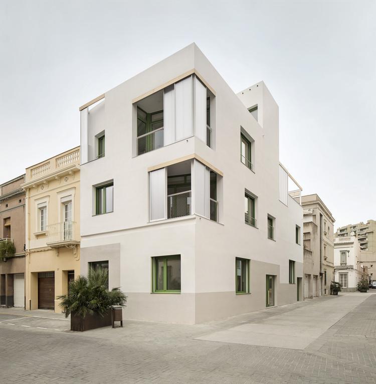 Edificio plurifamiliar PIC / Enric Rojo Arquitectura, © DEL RIO BANI