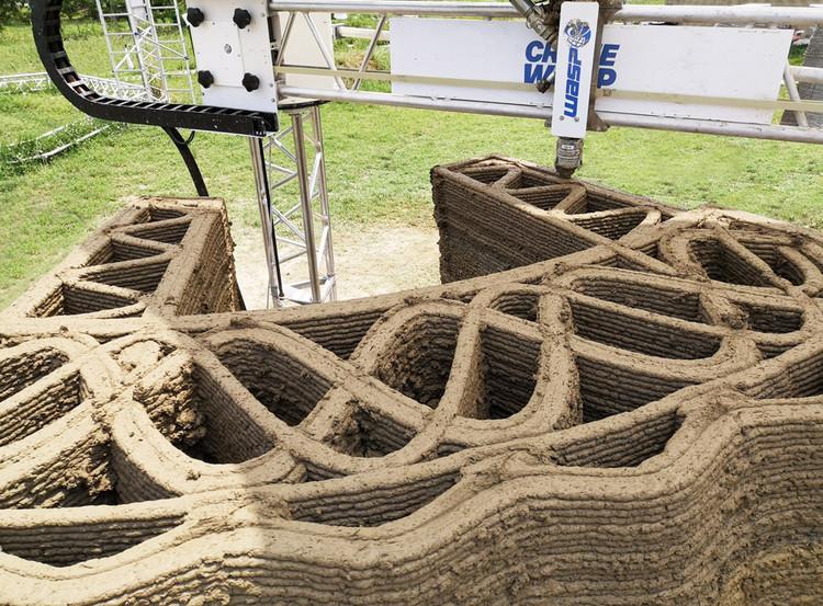 TECLA, 3D Printed Habitat by WASP and Mario Cucinella Architects. Image Cortesía de WASP