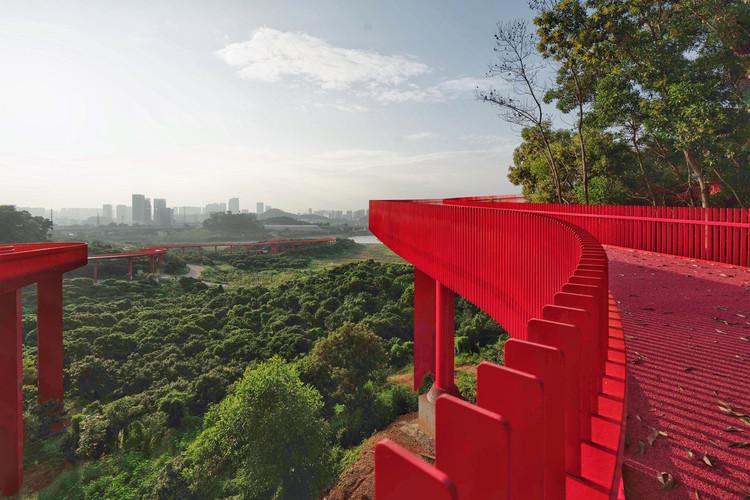 Se inaugura el Parque Forestal y Deportivo de Guangming en Shenzhen, China por TALLER Architects, LOLA y L+CC, Cortesía de TALLER Architects