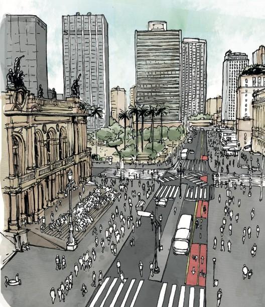5 Inovações do novo Manual de Desenho Urbano e Obras Viárias de São Paulo, Manual de Desenho Urbano e Obras Viárias. Imagem: Divulgação