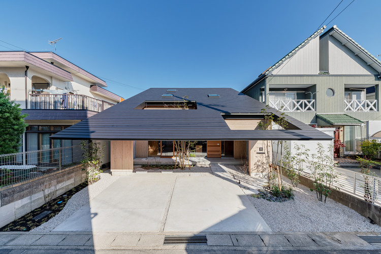 Casa Imaise / Tatsuya Kawamoto + Associates, © Takashi Uemura