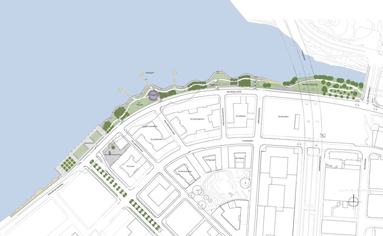 Hornsbergs Strandpark / Nyréns Arkitektkontor. Courtesy of the authors