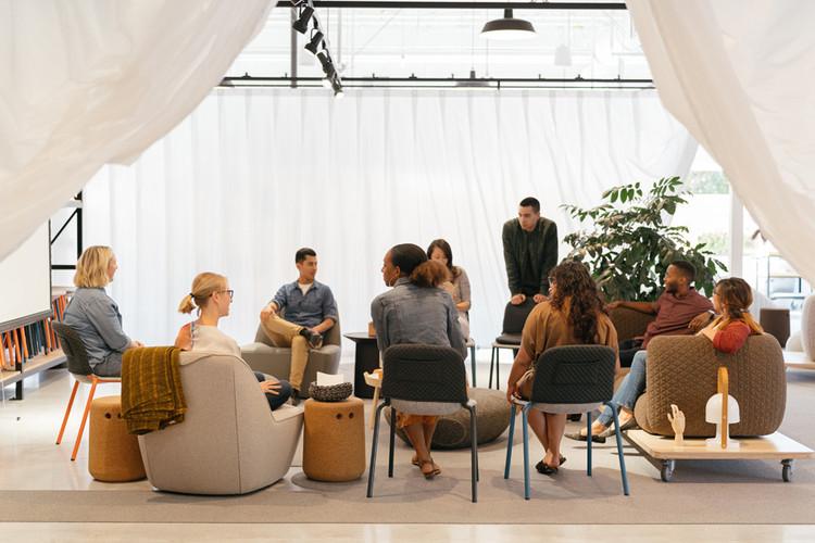 La clave para la innovación y el éxito es la fuerza laboral, no el lugar de trabajo, Google Schoolhouse, 2020, Mountain View, CA, fue diseñado por Rapt Studio para maximizar el compromiso de la fuerza laboral. Imagen © Michael Lyon