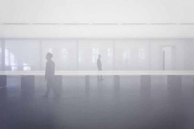 White Atmospheres: How to Create Calm Spaces with Fabric Partitions, Logan Offices / SO-IL. Image ? Naho Kubota