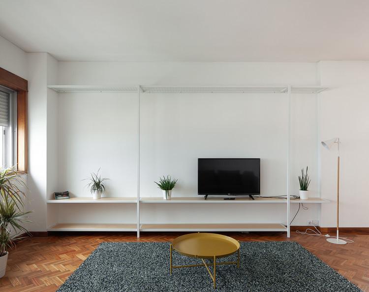 Apartamento de Gonçalo Cristovão / Merooficina, © José Campos