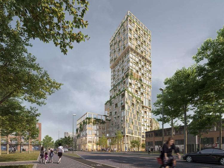 Mad Arkitekter to Design Germany's Tallest Wooden Tower, Courtesy of Mad Arkitekter