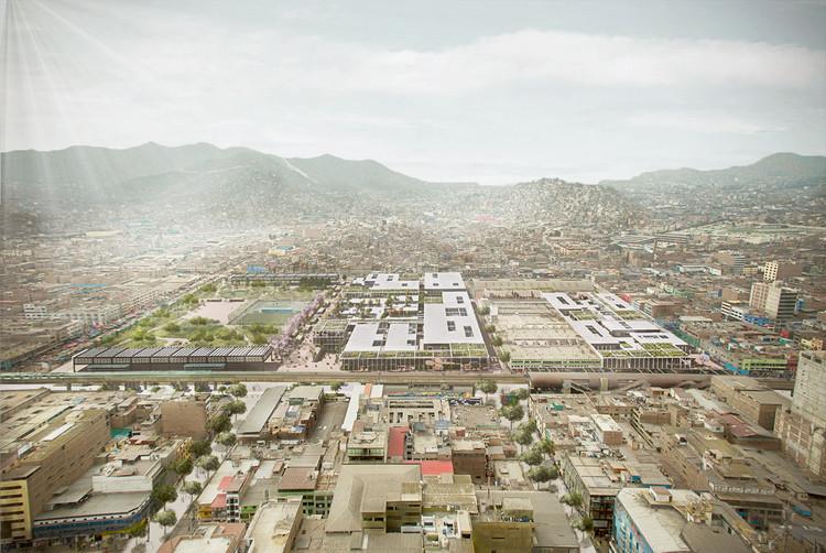 Mercados Post Covid-19 en Lima, ¿Cómo serán?, Primer Puesto. Image Cortesía de Equipo de Proyecto