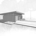 PERSPECTIVE - Five House: Ngôi nhà thiết kế khuôn viên rộng nhiều cây xanh và có bể bơi
