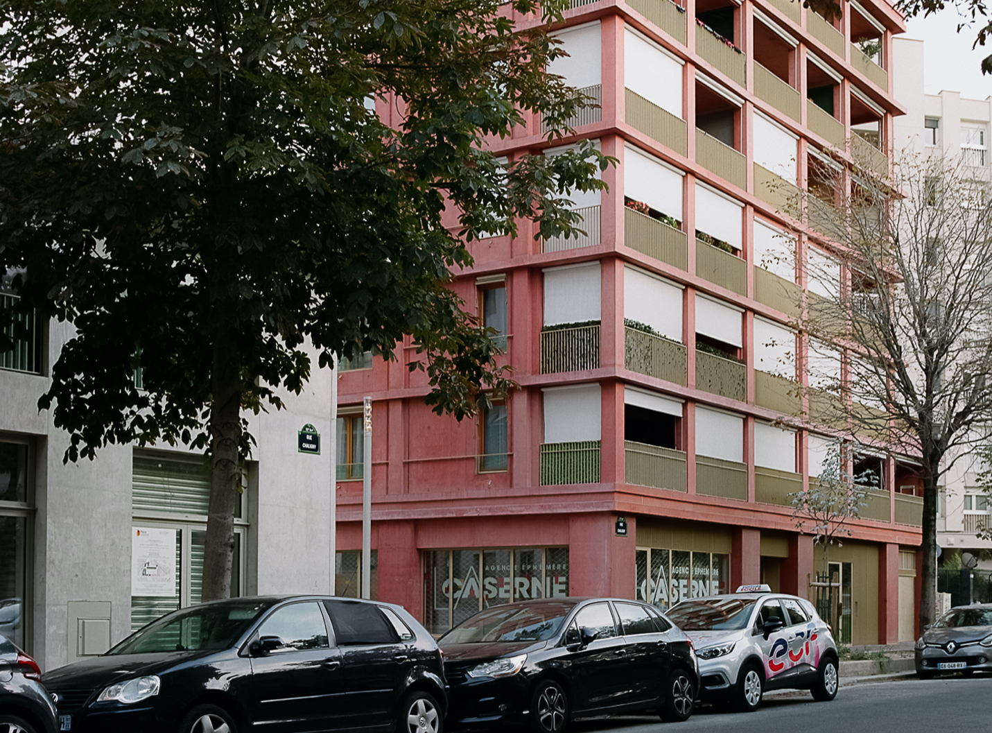Reuilly Residential Building  / Charles-Henri Tachon, architecture & paysage