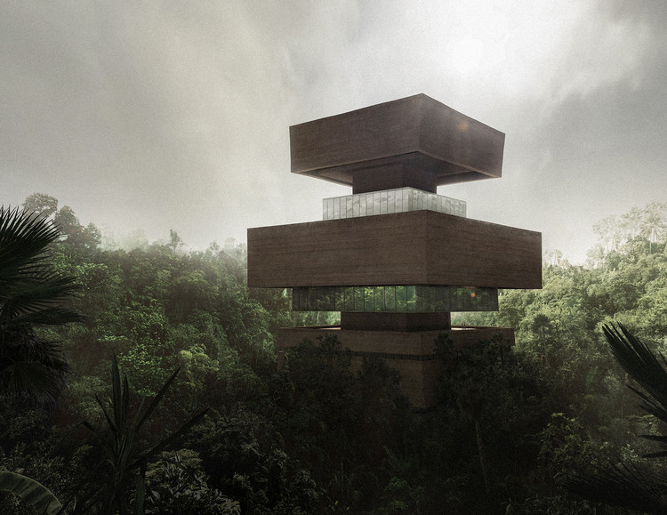 Viktor Sørless and Estudio Juiñi Design Research Museum in the Mexican Jungle, Courtesy of bloomimages and bloomrealities