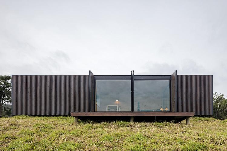 Otimização e eficiência da construção modular em projetos de casas brasileiras, MINIMOD Catuçaba / MAPA. Imagem: © Leonardo Finotti
