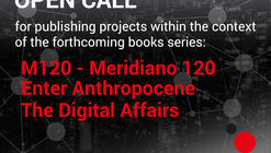 A new ListLab!  Open Call for publishing projects within the context of the forthcoming books series' M120 - Meridiano 120,' 'Enter Anthropocene,' and 'The Digital Affairs' by ListLab publisher.