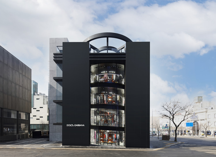 Dolce & Gabbana Store Seoul / Ateliers Jean Nouvel, © Dolce & Gabbana. Ateliers Jean Nouvel. Jean Nouvel Design