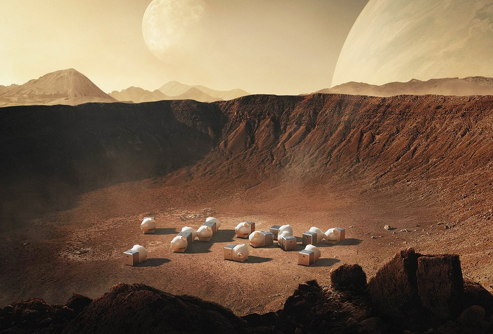 Architecture on Mars : Projects for Life on the Red Planet