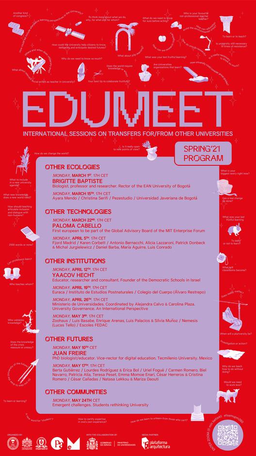 Ciclo de Primavera Edumeet 2021, Edumeet