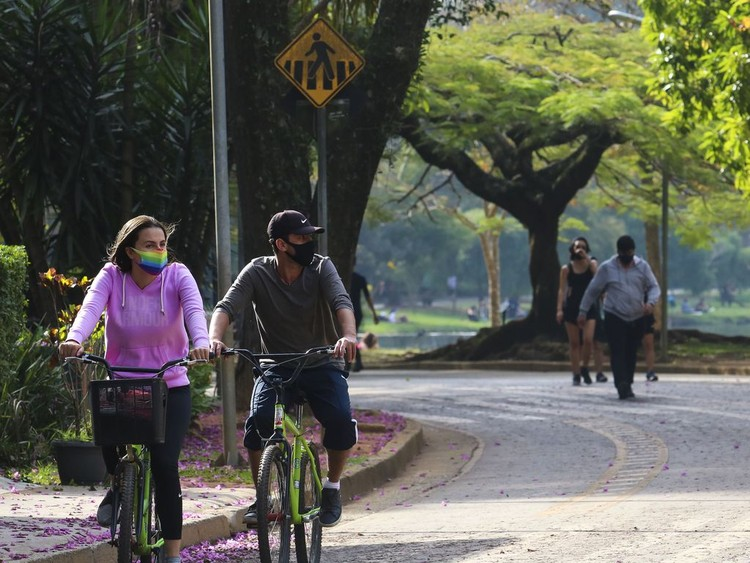 Mais vegetação, espaços de convívio e mobilidade ativa: o que desejam os paulistanos na pandemia, Foto: Rovena Rosa / Agência Brasil