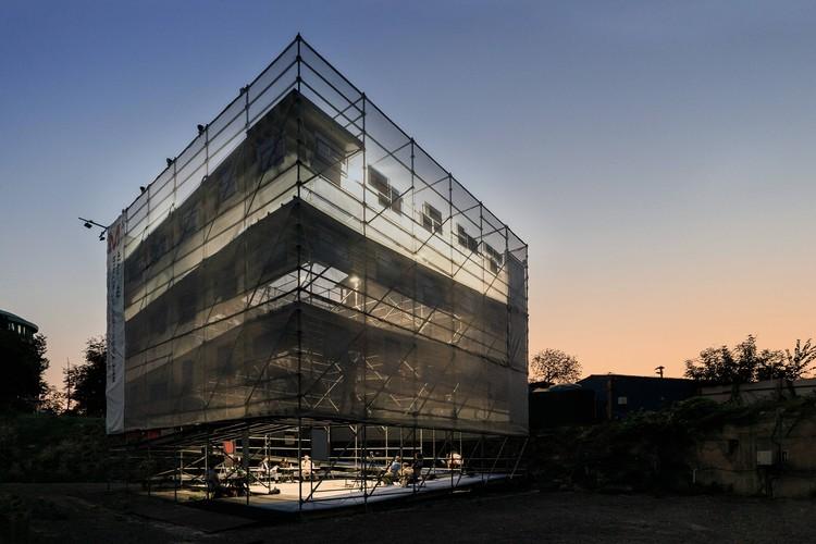 CUBE Temporary Exhibition Pavilion / urban curators + Iegor Shtefan, © Bohdan Poshyvailo, urban curators
