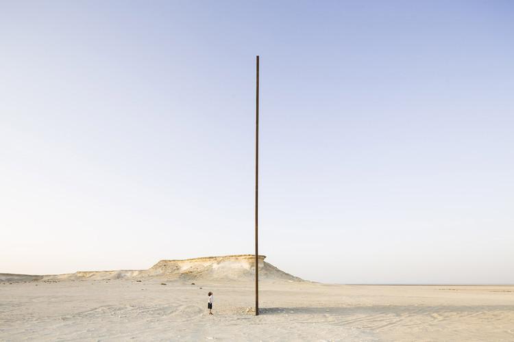 O que é o campo ampliado da arquitetura?, East-West/West-East de Richard Serra. Imagem: © Nelson Garrido