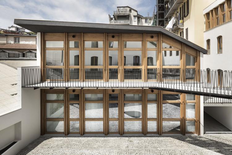 Edifício Residencial Canonica / deamicisarchitetti, © Alberto Strada