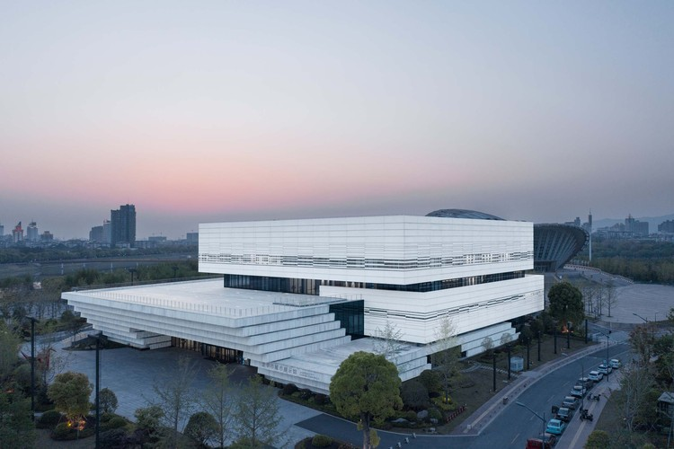 Jinhua Science & Culture Complex / DDB ARCHITECTS, urban planning exhibition center. Image © Arch-Exist