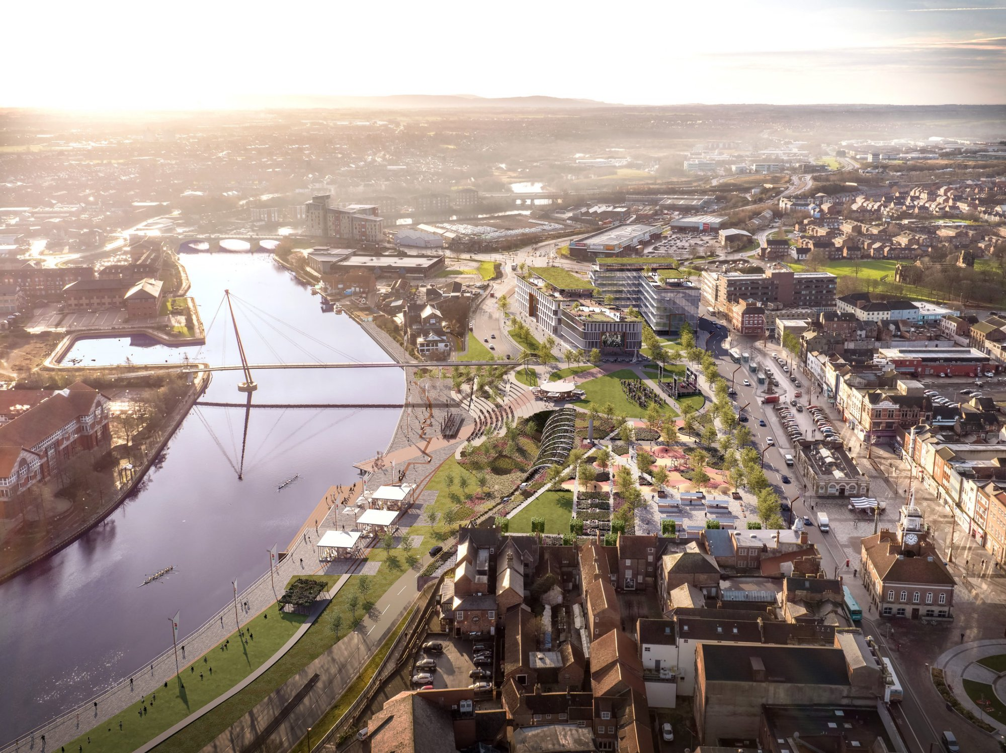 Stockton: High Street To Be Demolished to Make Way for Riverside Park
