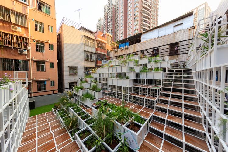 Urban Acupuncture - Green Cloud by ZHUBO-AAO.  Image © John Chiu