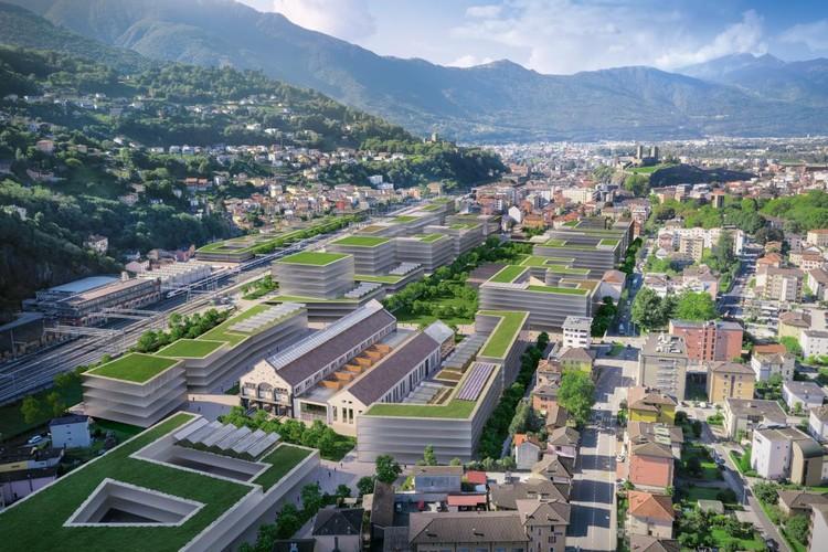 "City proposal ""Future proof"" In Belinson.  Image courtesy TAMassociati"